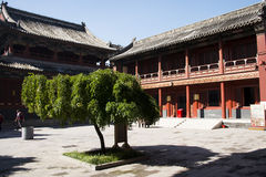 Chino asiático, Pekín, edificios históricos, Lama Temple Foto de archivo libre de regalías
