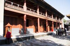 Chino asiático, Pekín, edificios históricos, Lama Temple Fotos de archivo