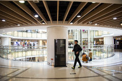 Chino asiático, Pekín, ¼ ŒInterior, la disposición de Joy City Shopping Plazaï de la tienda, Imagen de archivo