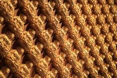 Chino Buda del oro Foto de archivo libre de regalías