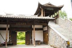 Chino de Asia, Pekín, China Minzu Yuan, galería, puente, paso Fotos de archivo