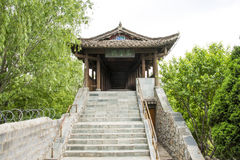 Chino de Asia, Pekín, China Minzu Yuan, galería, puente, paso Imagen de archivo