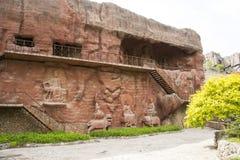 Chino de Asia, Pekín, China Minzu Yuan, gruta Fotografía de archivo