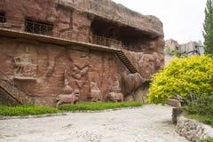 Chino de Asia, Pekín, China Minzu Yuan, gruta Fotos de archivo libres de regalías
