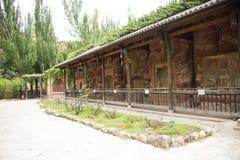 Chino de Asia, Pekín, China Minzu Yuan, gruta Imagen de archivo