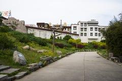 Chino de Asia, Pekín, China Minzu Yuan, paisaje arquitectónico, Imagen de archivo libre de regalías