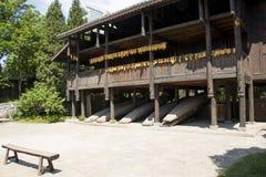Chino de Asia, Pekín, China Minzu Yuan, paisaje arquitectónico, cabina Foto de archivo libre de regalías