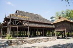 Chino de Asia, Pekín, China Minzu Yuan, paisaje arquitectónico, cabina Imágenes de archivo libres de regalías