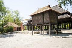 Chino de Asia, Pekín, China Minzu Yuan, paisaje arquitectónico, cabina Fotografía de archivo libre de regalías