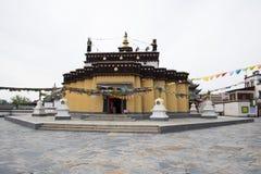 Chino de Asia, Pekín, China Minzu Yuan, paisaje arquitectónico, mandala Fotografía de archivo