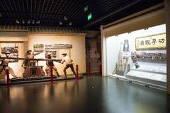 Chino de Asia, Pekín, museo, escaparate interior Imagen de archivo libre de regalías