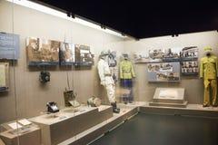 Chino de Asia, Pekín, museo, escaparate interior Imágenes de archivo libres de regalías