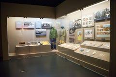 Chino de Asia, Pekín, museo, escaparate interior Fotos de archivo libres de regalías