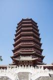 Chino de Asia, Pekín, torre de ŒYongding del ¼ de Expoï del jardín Fotografía de archivo