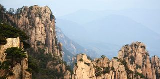 Chino de Huangshan Imagen de archivo libre de regalías
