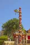 Chino del dragón en el país de Tailandia Fotografía de archivo libre de regalías
