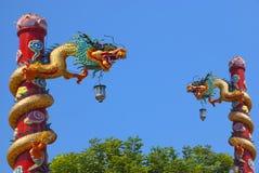 Chino del dragón en el país de Tailandia Imagen de archivo
