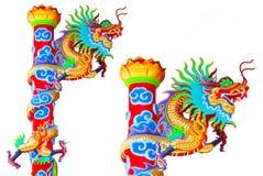 Chino del dragón en el país de Tailandia Imagenes de archivo
