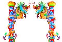 Chino del dragón en el país de Tailandia Imagen de archivo libre de regalías