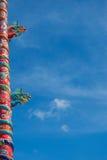 Chino del dragón en Tailandia Fotografía de archivo libre de regalías