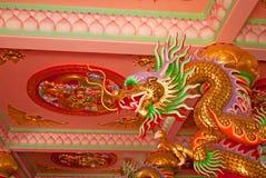 Chino del dragón en Tailandia Imagen de archivo libre de regalías