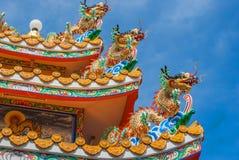 Chino del dragón en Tailandia Fotos de archivo libres de regalías