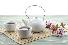 Chino fijado con té Fotografía de archivo libre de regalías