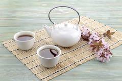 Chino fijado con té Imagen de archivo libre de regalías