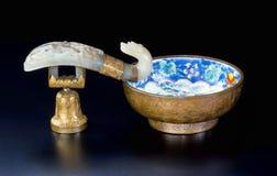 Chino Jade Brush Washer Fotografía de archivo libre de regalías