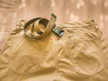 Chino pants Stock Photography