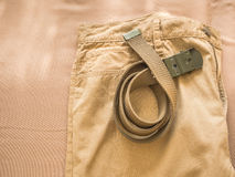 Chino pants Stock Images