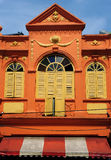 Chino Portuguese architecture style Royalty Free Stock Photo