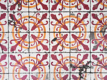 Chino Portuguese old tiles. Stock Photos