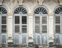 Chino Portuguese style architecture Royalty Free Stock Photo