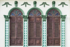 Chino Portuguese style architecture Royalty Free Stock Photos