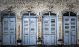 Chino Portuguese style architecture Stock Photos