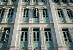 Chino Portuguese Style Building, Phuket, Thailand stock image