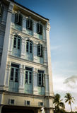 Chino Portuguese Style Building, Phuket, Thailand Stock Photo
