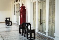 Chino Portuguese style decoration Royalty Free Stock Photography