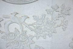 Chino tallado piedra como pájaro Fotografía de archivo