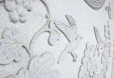 Chino tallado piedra como pájaro Foto de archivo