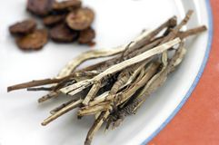 Chino tradicional medicinal   Foto de archivo