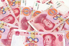 Chino Yuan Money Foto de archivo libre de regalías