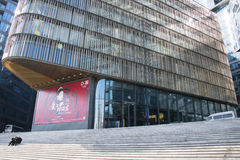 Chinois asiatique, Pékin, architecture moderne, le théâtre oriental Photo libre de droits