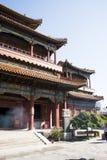 Chinois asiatique, Pékin, bâtiments historiques, Lama Temple Images libres de droits