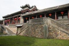 Chinois asiatique, Pékin, le palais d'été, TING LI GUAN Photo stock