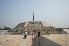 Chinois Asie, Pékin, autel de siècle de la Chine Images libres de droits