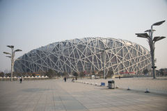 Chinois Asie, Pékin, le stade national Photographie stock