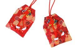 Chinois d'amulette Images libres de droits