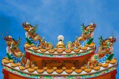 Chinois de dragon en Thaïlande Images stock